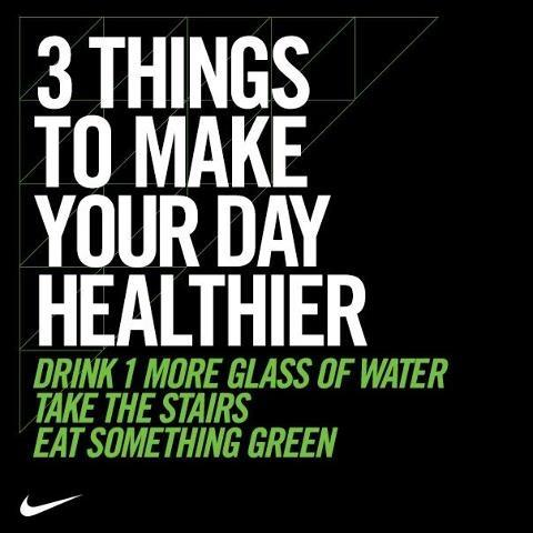 3 things to make your day healthier