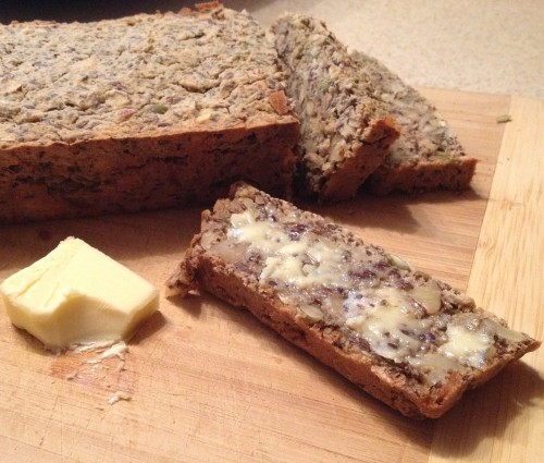Super Seeded Paleo-friendly Bread
