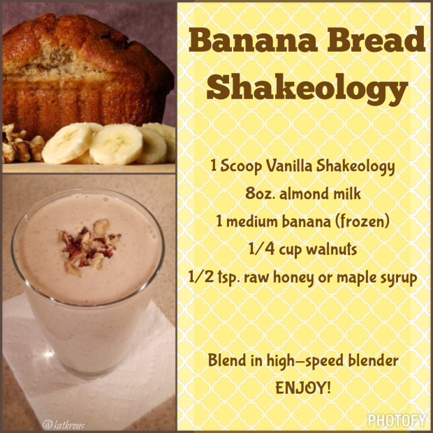 Banana Bread Shakeology