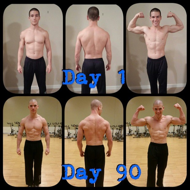 Coach Nate Body Beast Transformation