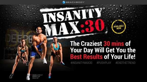 Click the pic to order your Insanity Max:30 Challenge Pack