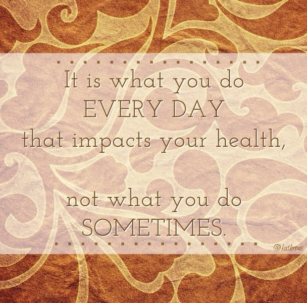 every day is what counts