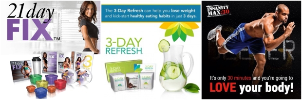 21 Day Fix 3 Day Refresh Insanity Max 30