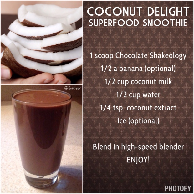 Coconut Delight Superfood Smoothie