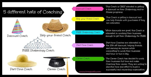 The 5 hats of coaching