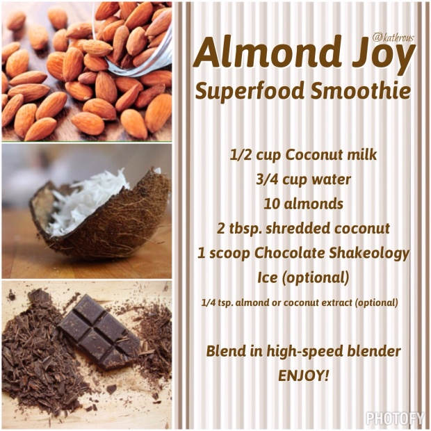 Almond Joy Shakeology