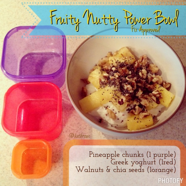 Fix Approved fruity Power Bowl