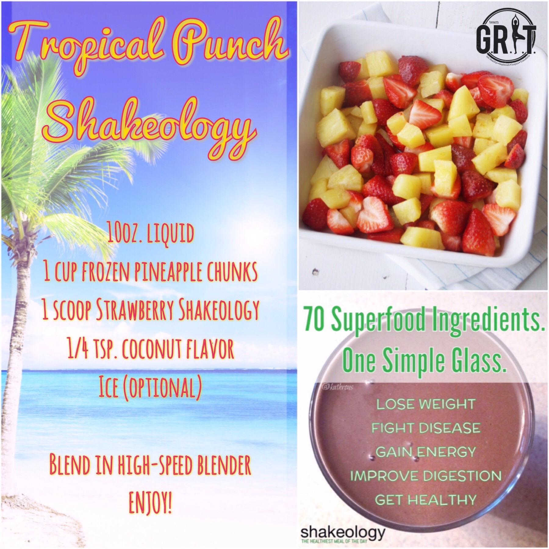 Tropical Punch Shakeology
