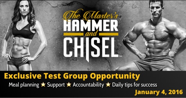 The masters hammer and chisel