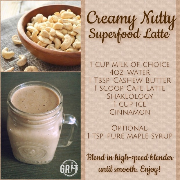 Creamy Nutty Superfood Latte